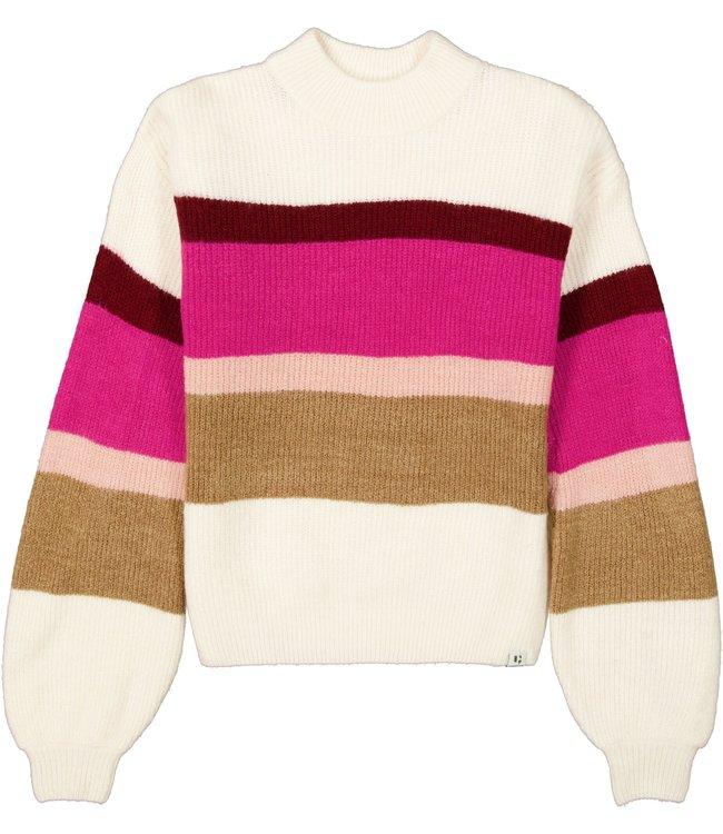 Garcia Meisjes trui gebreid - Sandshell