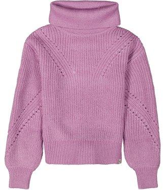 Garcia Meisjes trui gebreid - Rebel lilac