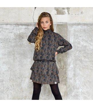 My Own Meisjes blouse - Billy - Slangenprint