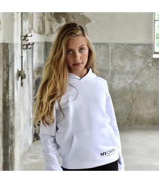 My Own Meisjes hoodie - Alex - Wit