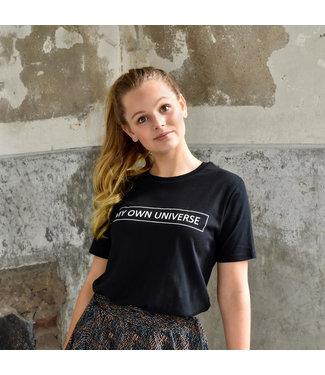 My Own Meisjes shirt - Amy - Zwart