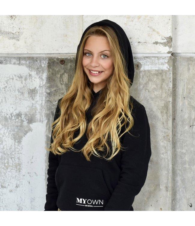 My Own Meisjes hoodie - Alex - Zwart