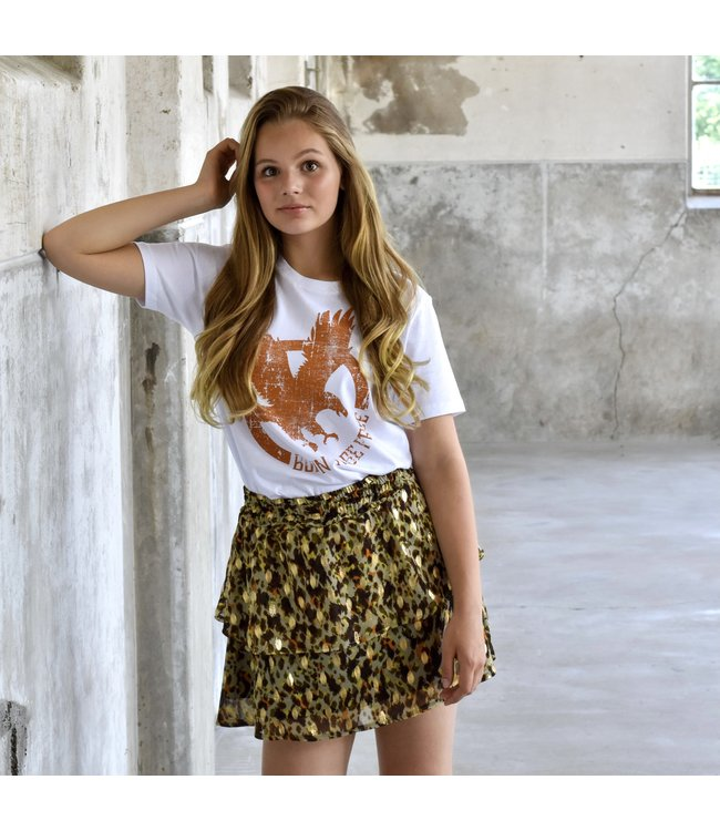 My Own Meisjes shirt - Chloe - Arend wit