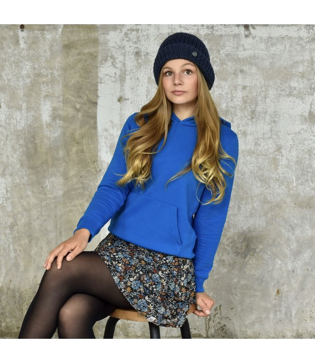 My Own Meisjes hoodie - Alex - Helder blauw
