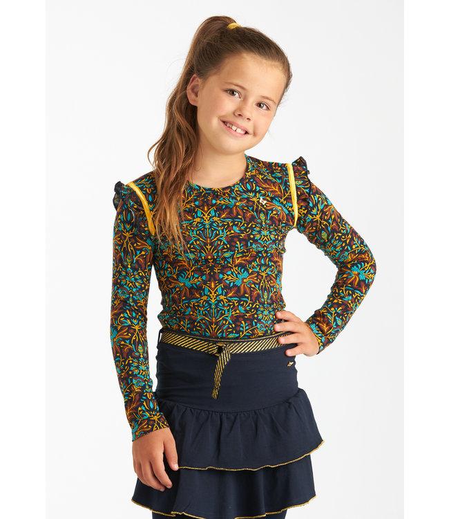 Chaos and Order Meisjes Longsleeve shirt - Katelyn zeegroen