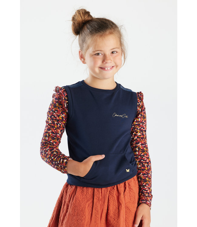 Chaos and Order Meisjes Spencer - Katoo marine blauw