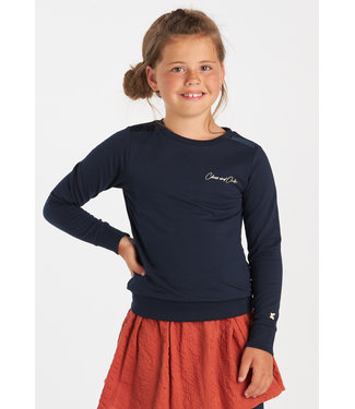 Chaos and Order Meisjes Sweater - Kirsten marine blauw