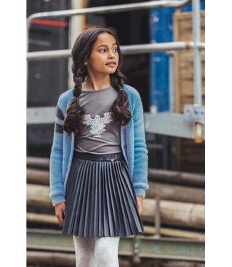 MAYCE Girlslabel Meisjes t-shirt - Grijs