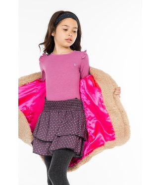 MAYCE Girlslabel Meisjes rok - Figures roze