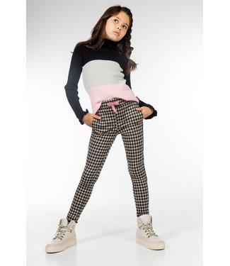 MAYCE Girlslabel Meisjes broek - Blok