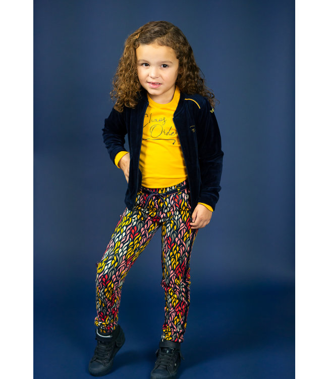 Chaos and Order Meisjes Vest - Kenzy navy