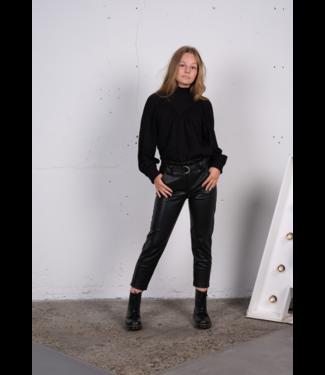 AI&KO Meisjes blouse - Vanese - Zwart