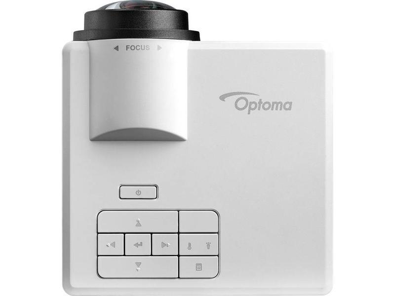 Optoma Mobiele short throw LED beamer