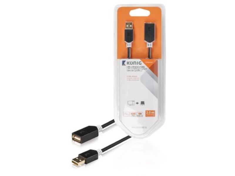 König König USB verlengkabel 2 meter