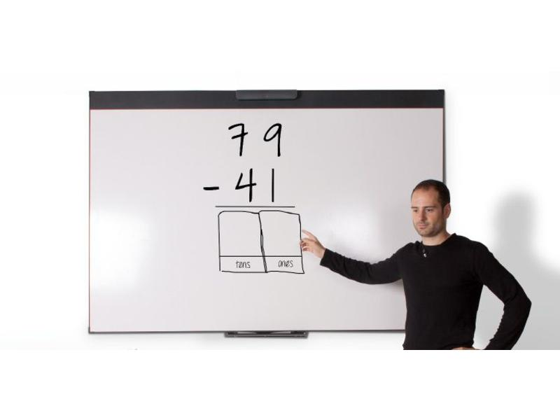 i3 Technologies i3Whiteboard Wi Duo 87""