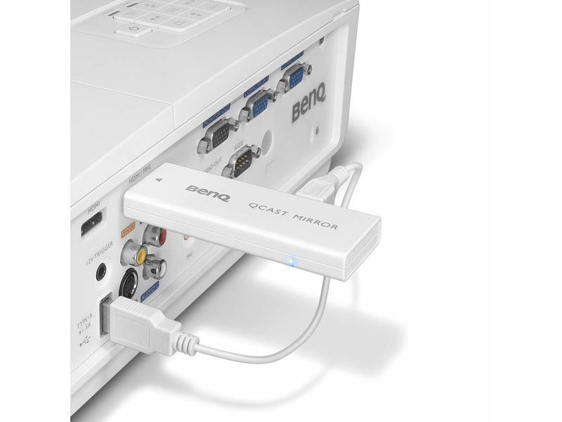 "BenQ BenQ QP20 ""QCast Mirror"" - draadloze HDMI-dongle"