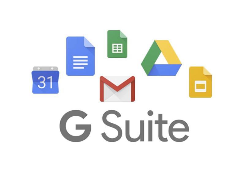 Google G-Suite basis software voor 1 gebruiker