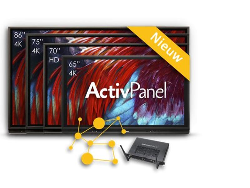 Promethean ActivPanel Touch 86 inch V6 4K UHD