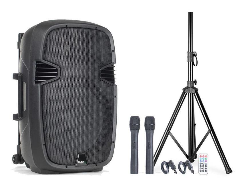 Ibiza Sound mobiele geluidsset huren