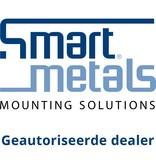 Smartmetals SmartMetals universele muurbeugel 60-90 cm wit