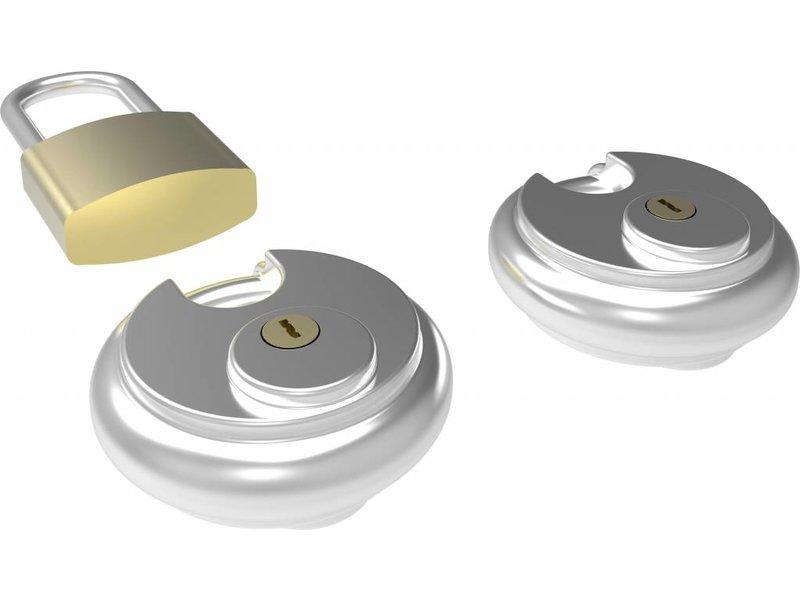 Smartmetals Smartmetals Projectorkooi Slotenset