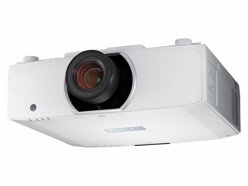 NEC NEC PA703W WXGA installatie beamer met lens