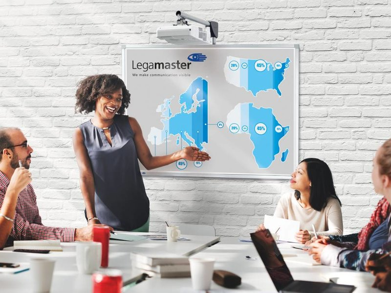 Legamaster Legamaster Professional Flex whiteboard 88 Inch