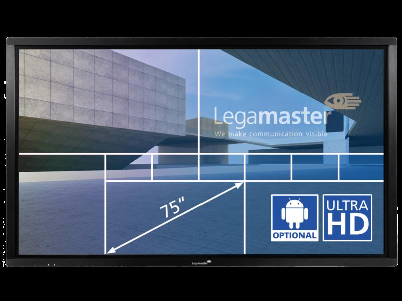 Legamaster Legamaster ETX-7510UHD interactieve display