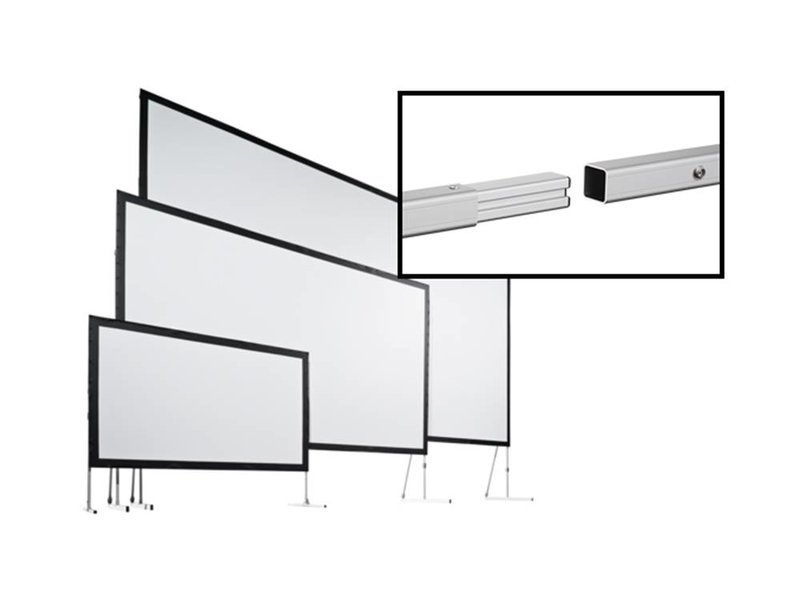 Stumpfl Stumpfl Vario 32 panorama mobiel doorzichtig projectiescherm
