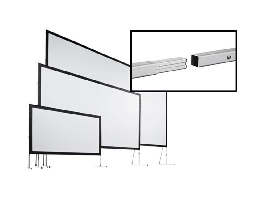 Stumpfl panorama doorzichtig projectiescherm