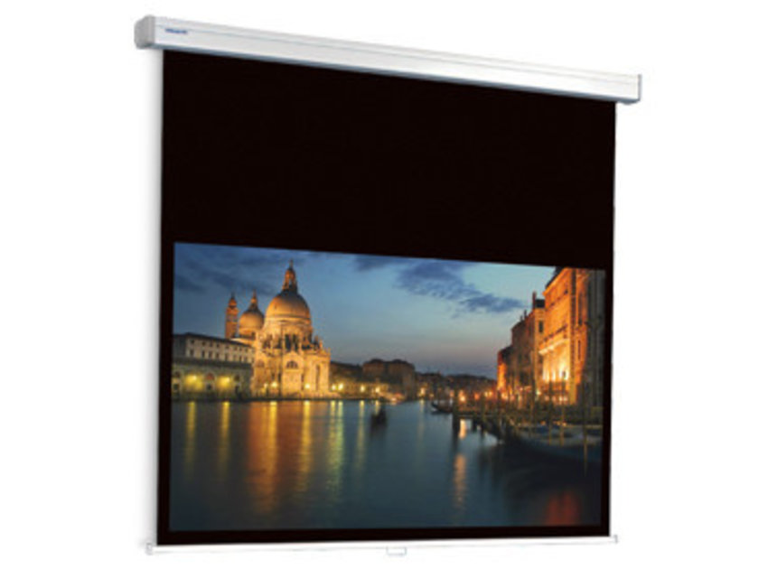 Projecta ProScreen CSR mat wit 16:9 extra bovenrand