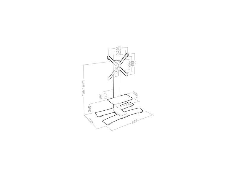 Erard Erard Will 1050 L universele trolley