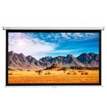 Projecta Projecta Slimscreen HDTV mat wit projectiescherm