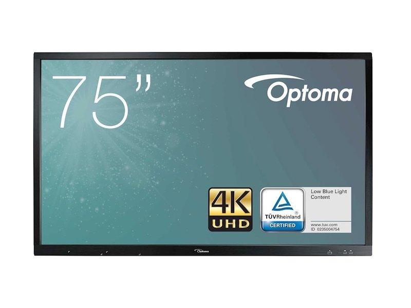 """Optoma Optoma OP751RK+ interactieve 4K display 75"""""""