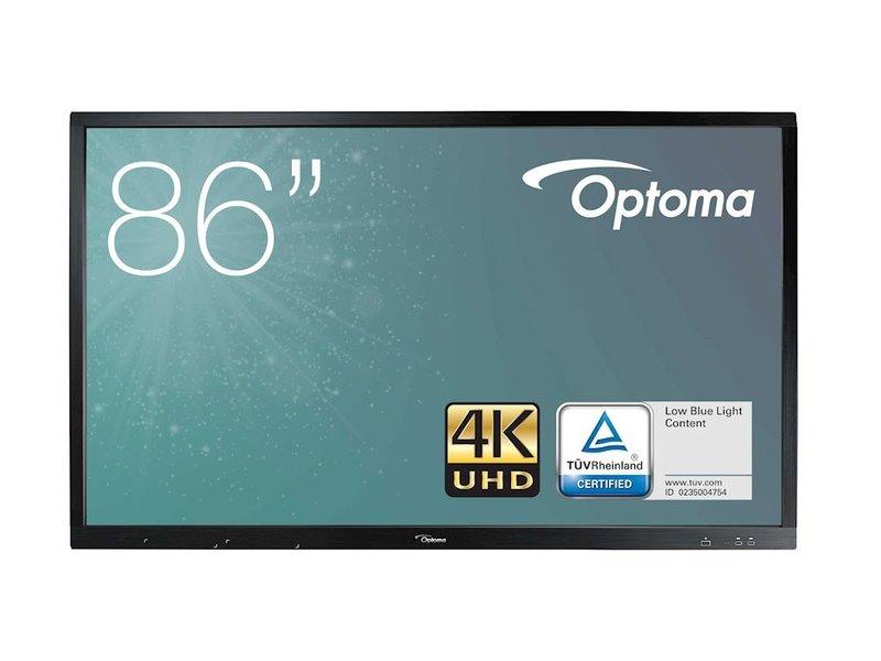 """Optoma Optoma OP861RK+ interactieve 4K display 86"""""""