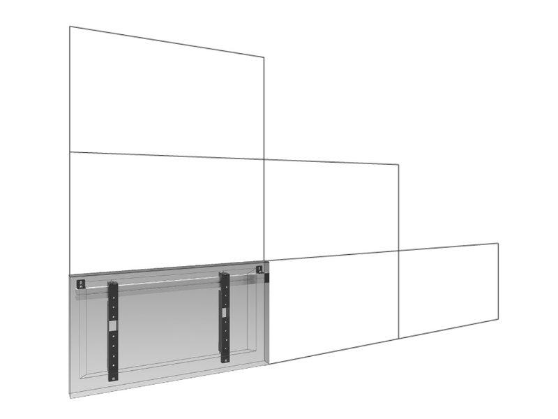 Smartmetals SmartMetals Videowall muurbeugel