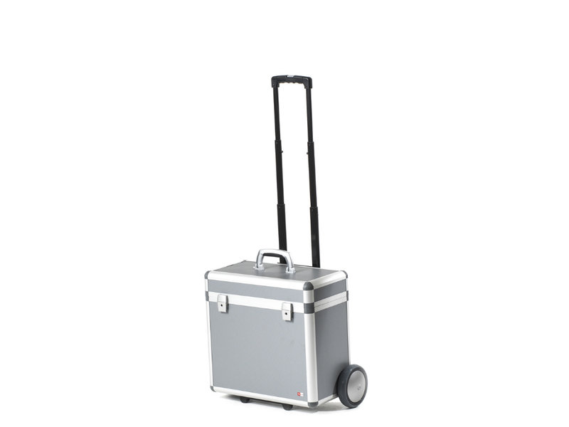 Hulshof Hulshof aluminium beamer koffer met trolley