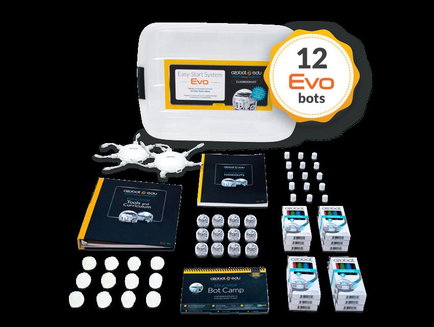 Ozobot Evo Classroom Kit 12 stuks
