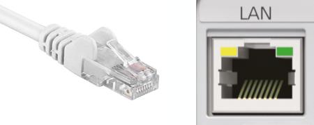 LAN internet verblinding beamer