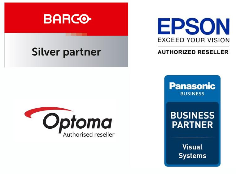 Voorbeelden van partner of reseller logo's