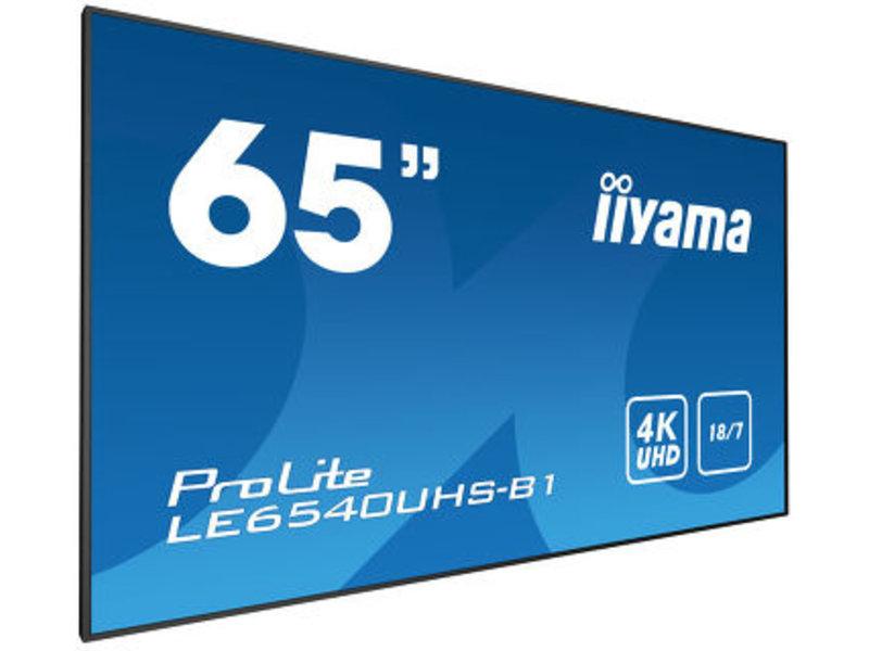 """iiyama Iiyama 65"""" UHD LED scherm"""