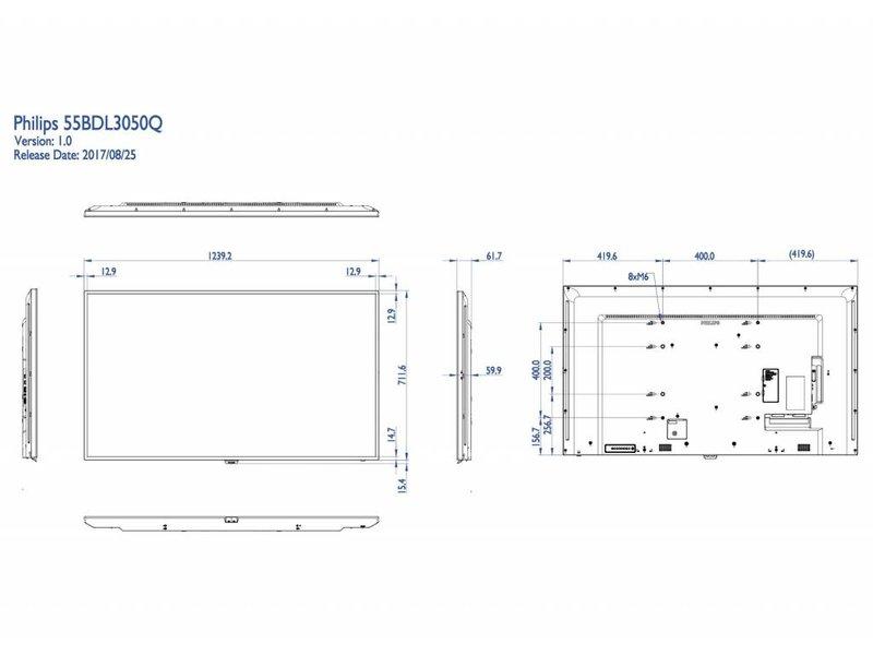 Philips Philips 55BDL3050Q/00 Q-line 4K UHD display