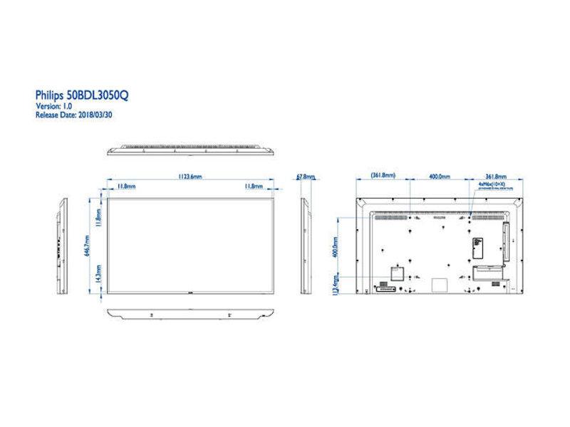Philips Philips 50BDL3050Q/00 Q-line 4K UHD display