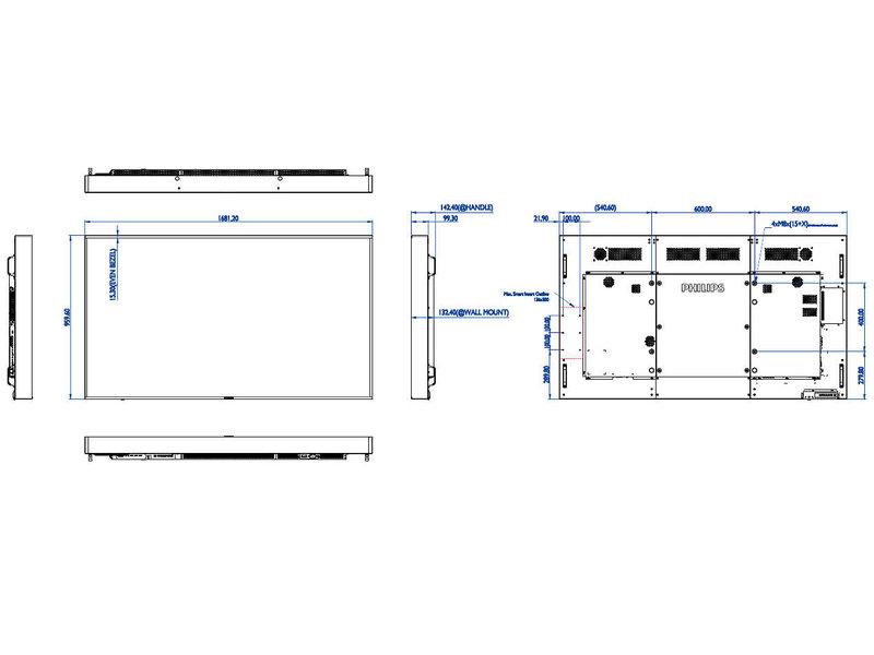 Philips Philips 75BDL3003H 4K UHD High brightness display