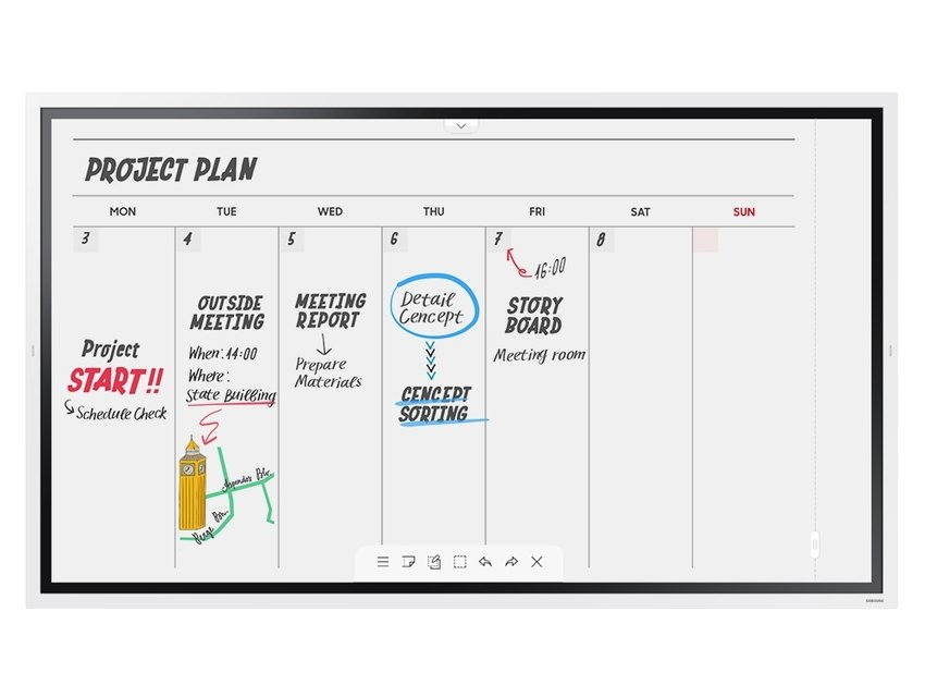 Samsung Flip 2 WM55R Combinatie