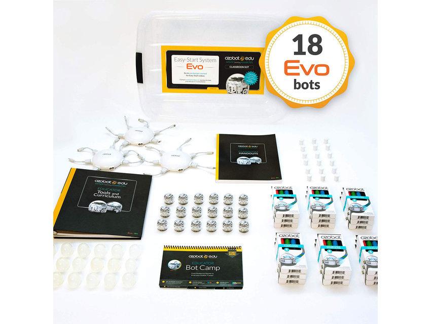 Ozobot Evo Classroom Kit 18 stuks