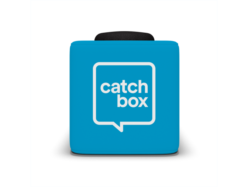 Catchbox Plus Blauw