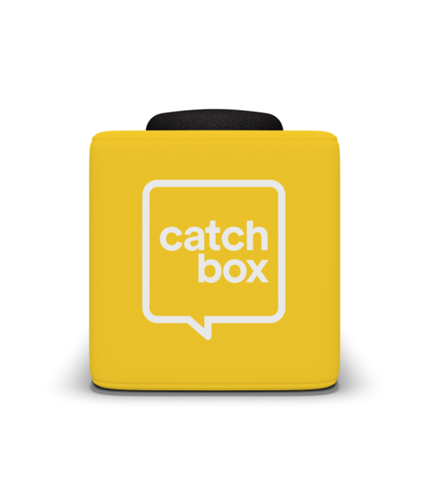 Catchbox Plus Geel