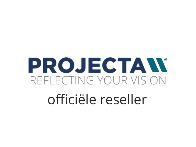 Projecta Projecta DescenderPro RF wide mat wit zonder rand