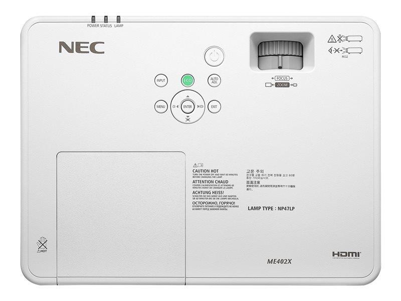NEC NEC ME402X mobiele XGA beamer